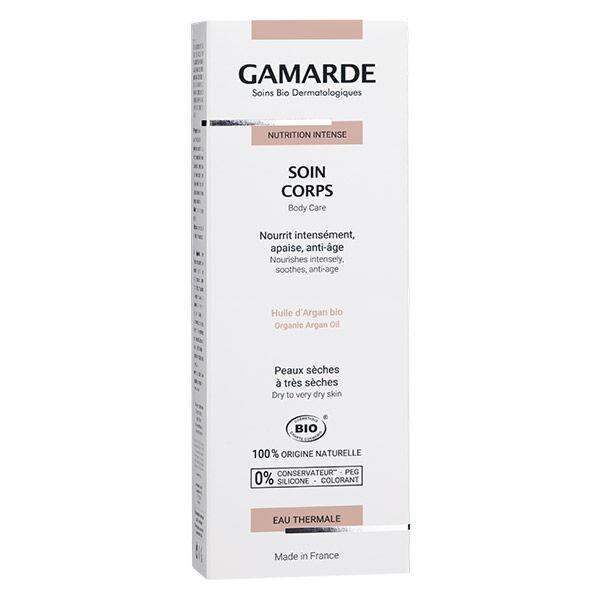 Gamarde Nutrition Intense Soin Corps Bio 200g
