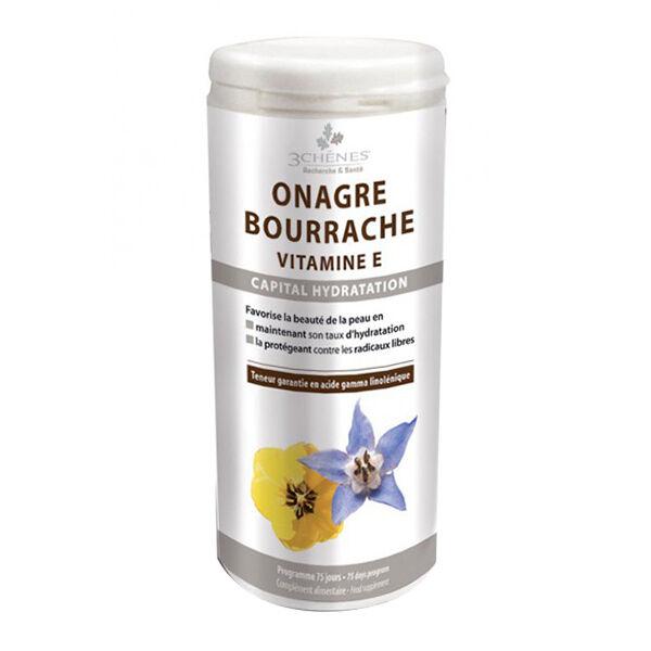 Les 3 Chênes Onagre Bourrache 150 capsules