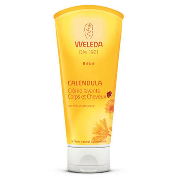 Weleda Bébé Calendula Crème Lavante Cheveux et Corps 200ml