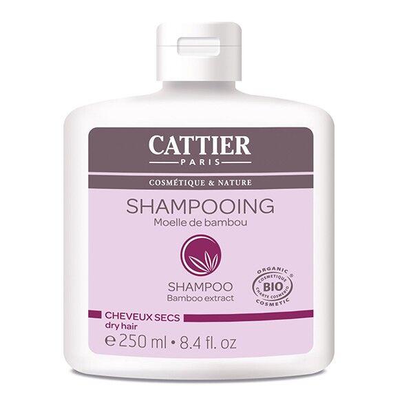 Cattier Shampooing Moelle de Bambou Cheveux Secs 250ml