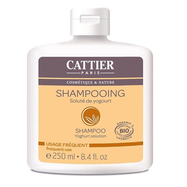 Cattier Shampooing Soluté de Yogourt Usage Fréquent 250ml