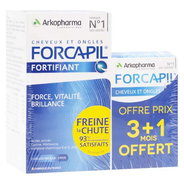Arkopharma Forcapil Cheveux & Ongles 180 gélules + 60 gélules offertes