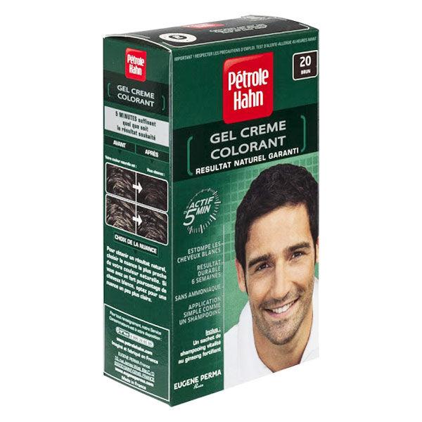 Petrole Hahn Crème Colorante Douce Sans Ammoniaque n°20 Brun