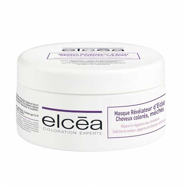Elcea Masque Révélateur d'éclat Cheveux Colorés et Méchés 200ml