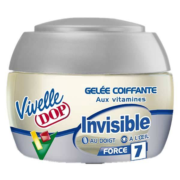 Dop Vivelle Dop Gel Coiffant aux Vitamines Invisible Fixation Force 7 150ml
