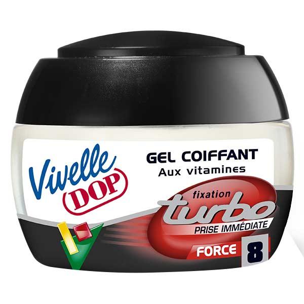 Dop Vivelle Dop Gel Coiffant aux Vitamines Fixation Turbo Force 8 150ml