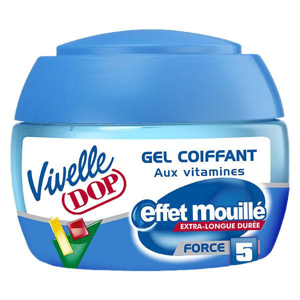 Dop Vivelle Dop Gel Coiffant aux Vitamines Effet Mouillé Force 5 150ml