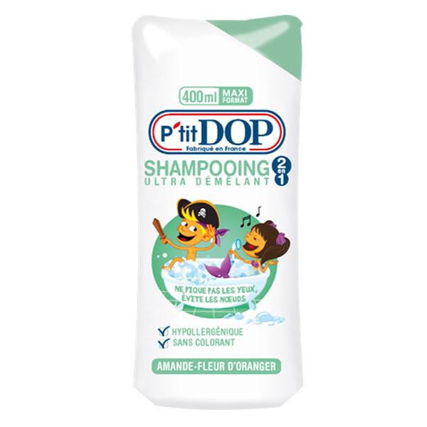 Dop P'tit Dop Shampooing Ultra Démêlant 2en1 Amande Fleur d'Oranger 400ml
