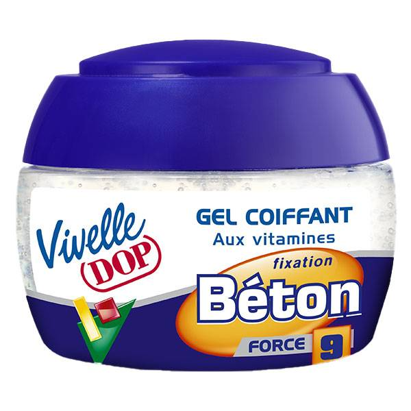 Dop Vivelle Dop Gel Coiffant aux Vitamines Fixation Béton Force 9 150ml