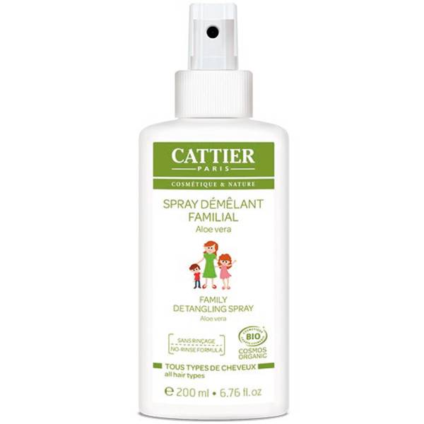 Cattier Spray Démêlant Familial Bio 200ml