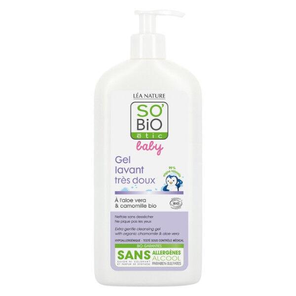 So Bio Etic Baby Gel Lavant Très Doux 500ml