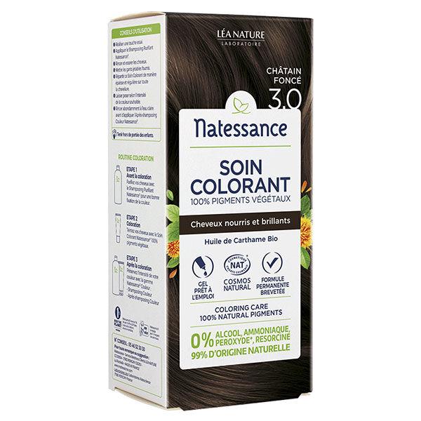 Natessance Coloration Végétale Châtain Foncé Bio 150ml