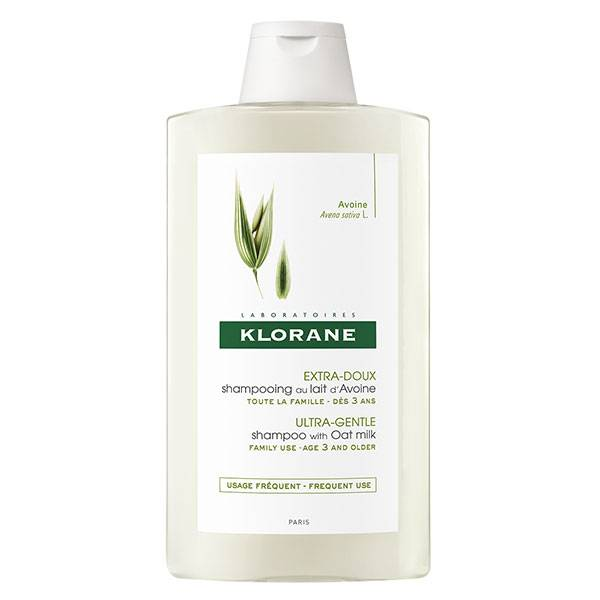 Klorane Lait d'Avoine Shampooing Extra-Doux 400ml
