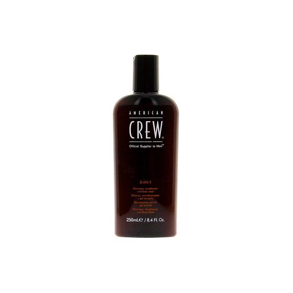 American Crew Gel Corps et Cheveux Classic 3-en-1 250ml