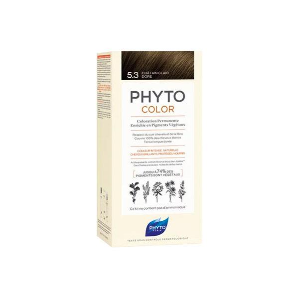Phyto Color 5,3 Châtain Clair Doré
