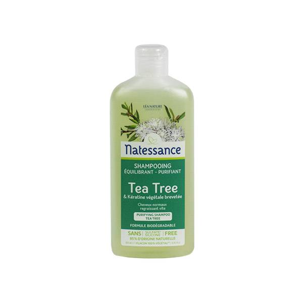 Natessance Shampooing Équilibrant Purifiant Tea Tree 250ml
