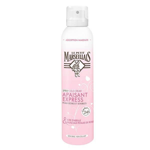 Le Petit Marseillais Spray Cold Cream Apaisant Express Cire d'Abeille et Rose 200ml