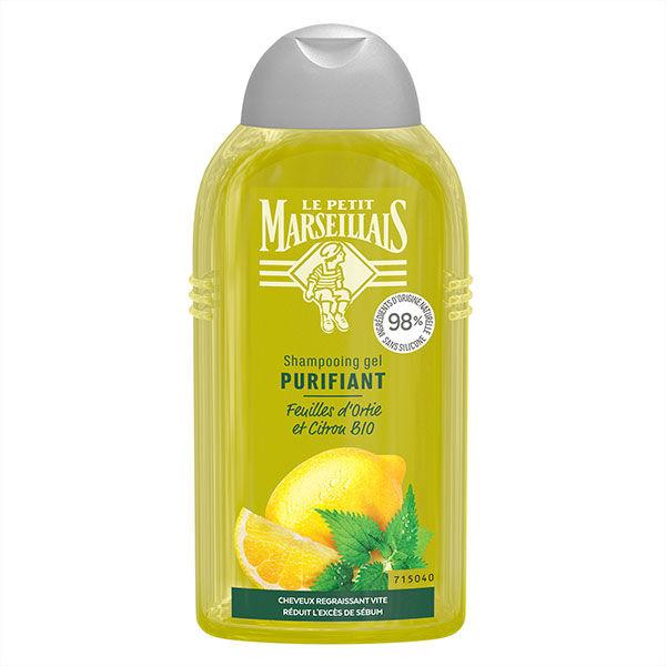 Le Petit Marseillais Shampooing Purifiant Ortie Blanche et Citron Bio 250ml