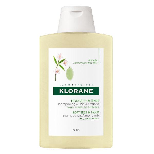 Klorane Lait d'Amande Shampooing Gainant 200ml