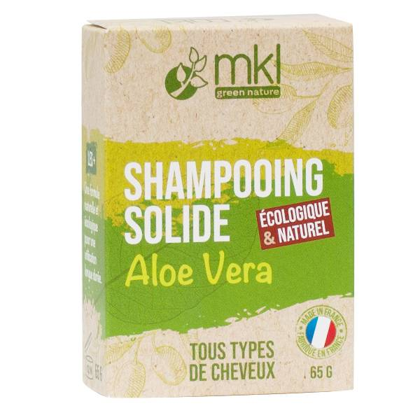 MKL Shampooing Solide Aloe Vera Cheveux Normaux 65g