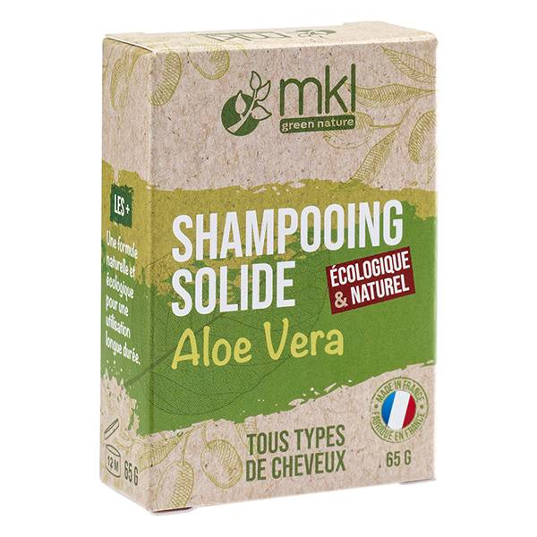 MKL Green Nature Shampooing Solide Aloe Vera Cheveux Normaux 65g
