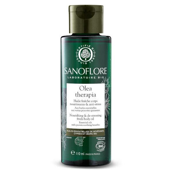 Sanoflore Olea Therapia Huile Fraîche Nourrissante & Anti-Stress 110ml