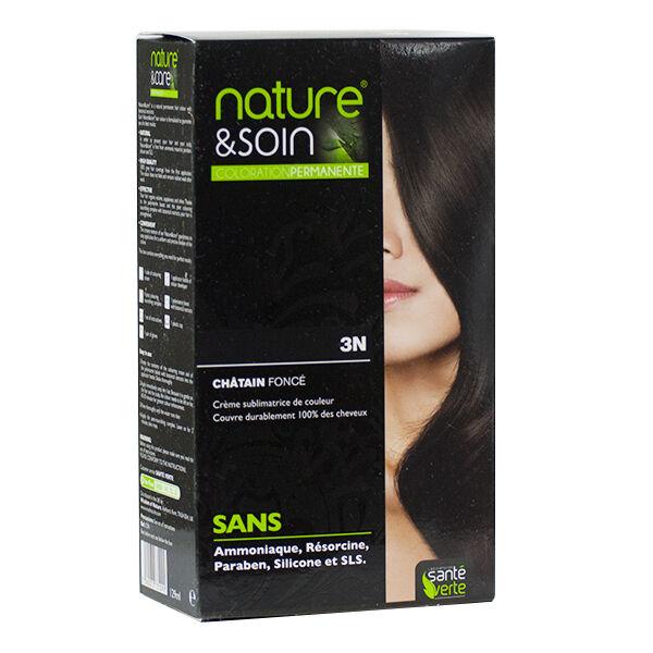 Santé Verte Nature & Soin Coloration Permanente Châtain Foncé 3N