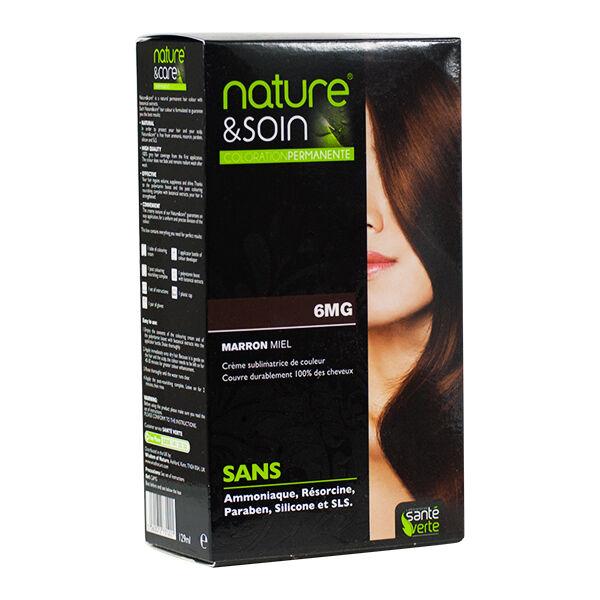 Santé Verte Nature & Soin Coloration Permanente Marron Miel 6MG