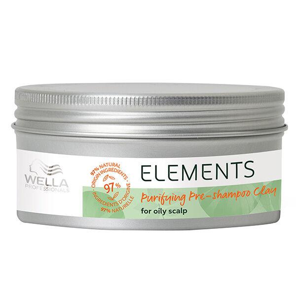 Wella Professionals Elements Pré-Shampoing Purifiant à l'Argile 225ml