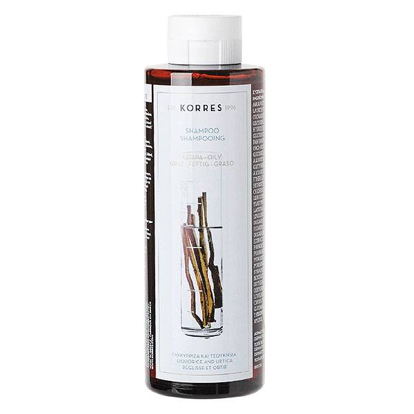 Korres Capillaire Shampooing Cheveux Gras 250ml