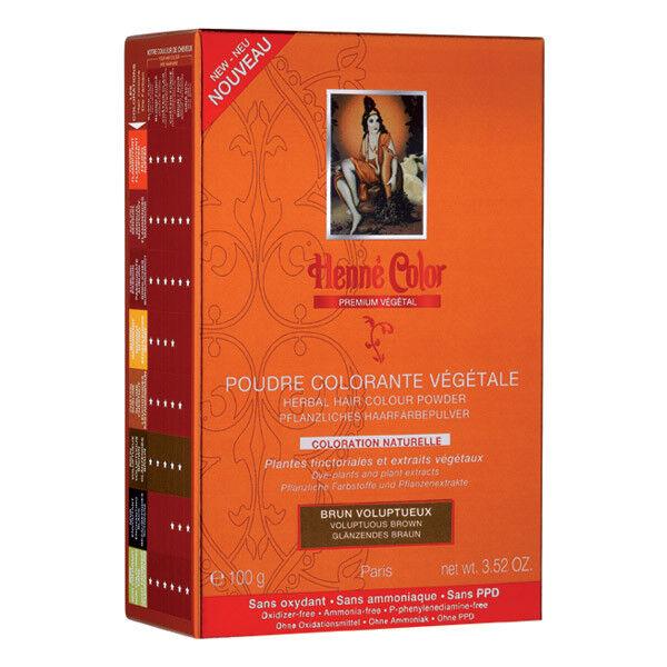 Henne Color Poudre Colorante Brun Voluptueux 100g