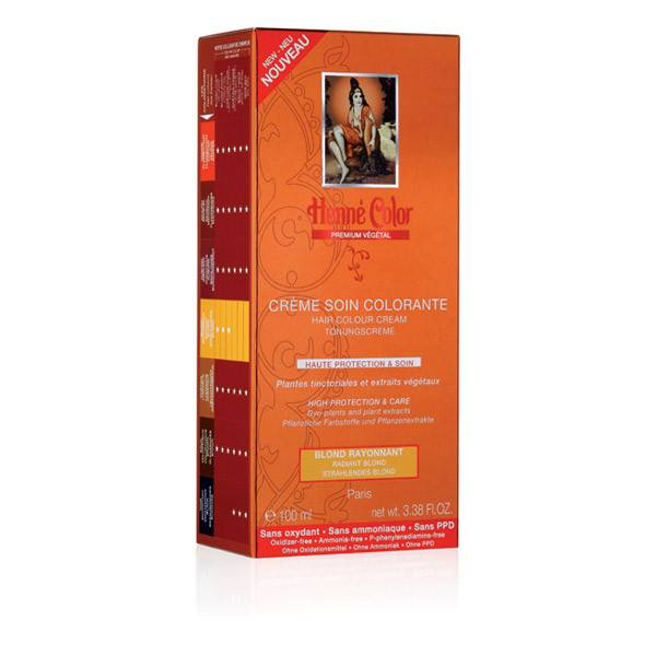 Henne Color Crème Soin Colorante Blond Rayonnant 100ml
