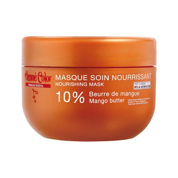 Henne Color Masque Cheveux Abimes et Colores 200g