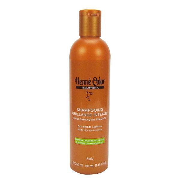 Henne Color Shampooing Brillance Intense Cheveux Abîmés et Colorés 250ml