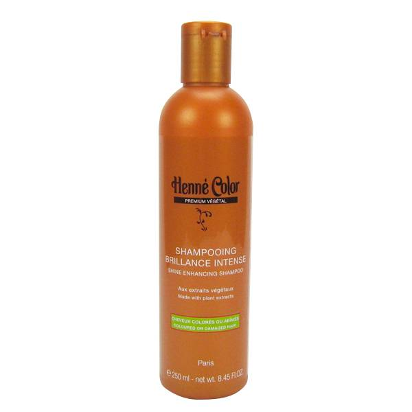 Henne Color Shampooing Brillance Intense Cheveux Abîmés et Colorés 250ml