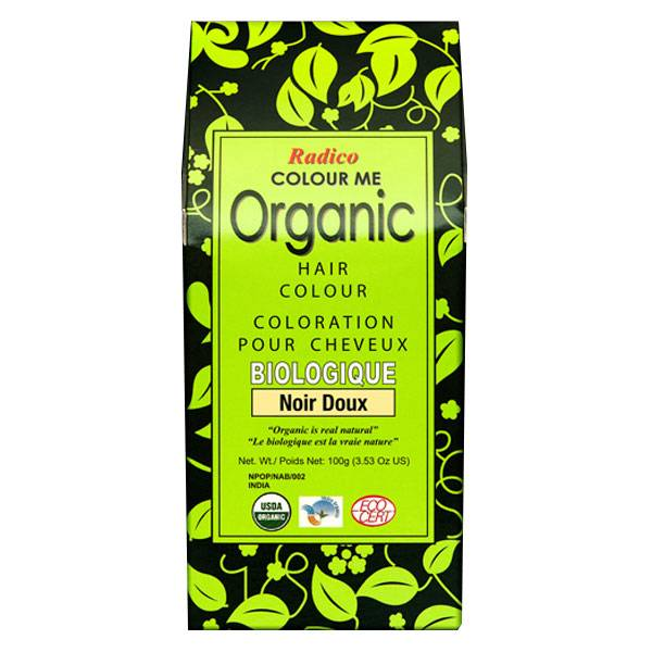 Radico Coloration Végétale Bio Noir Doux 100g