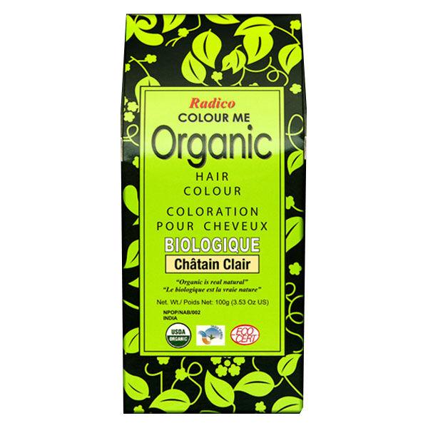 Radico Coloration Végétale Bio Châtain Clair 100g