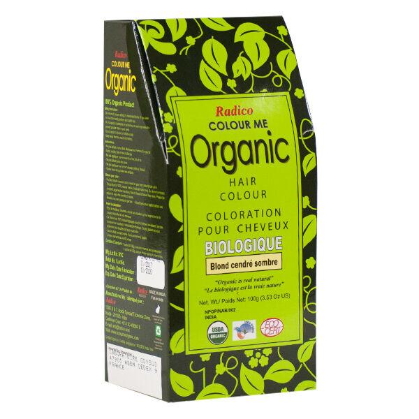Radico Coloration Végétale Bio Blond Cendré Sombre 100g