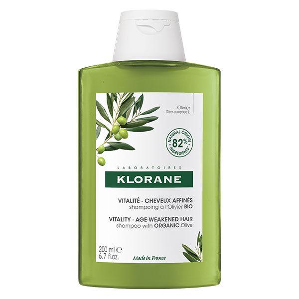 Klorane Extrait d'Olivier Shampooing Vitalité 200ml
