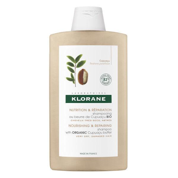 Klorane Shampooing au Beurre de Cupuaçu Bio 400ml