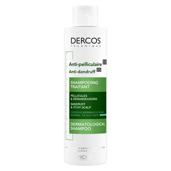 Vichy Dercos Shampooing Anti-Pelliculaire DS Cheveux Normaux à Gras 200ml
