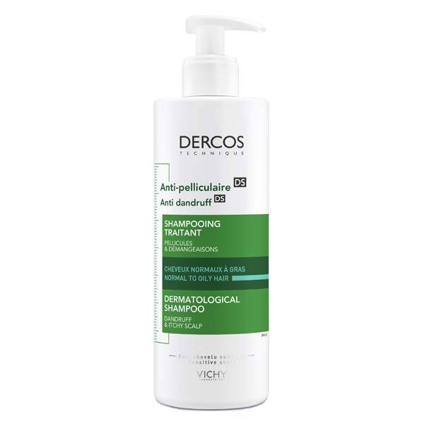 Vichy Dercos Shampooing Anti-Pelliculaire DS Cheveux Normaux à Gras 390ml