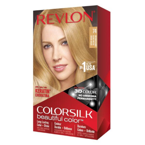 Revlon Colorsilk Coloration Permanente N°74 Blond Moyen