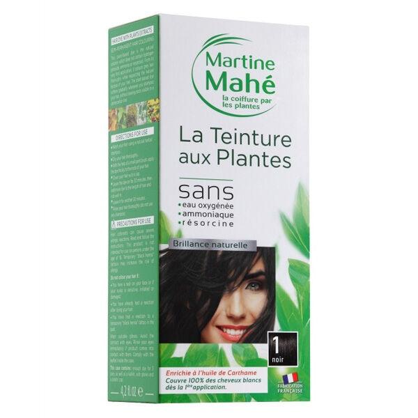 Martine Mahé Teinture aux Plantes Coloration N°1 Noir