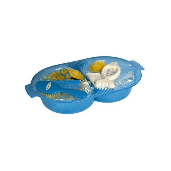 dBb Remond Set de Toilette Bleu Translucide