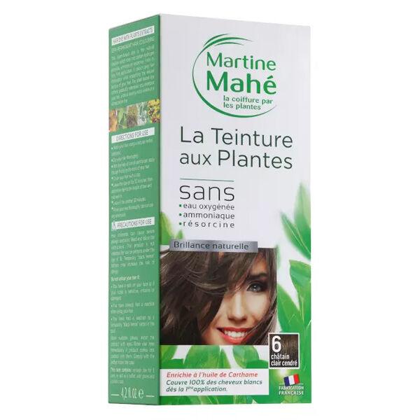 Martine Mahé Teinture aux Plantes Coloration N°6 Châtain Clair Cendré