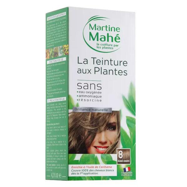 Martine Mahé Teinture aux Plantes Coloration N°8 Blond Cendré