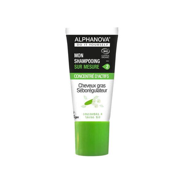 Alphanova Mon Shampooing Sur Mesure Concentré D'Actifs Cheveux Gras Bio 20ml