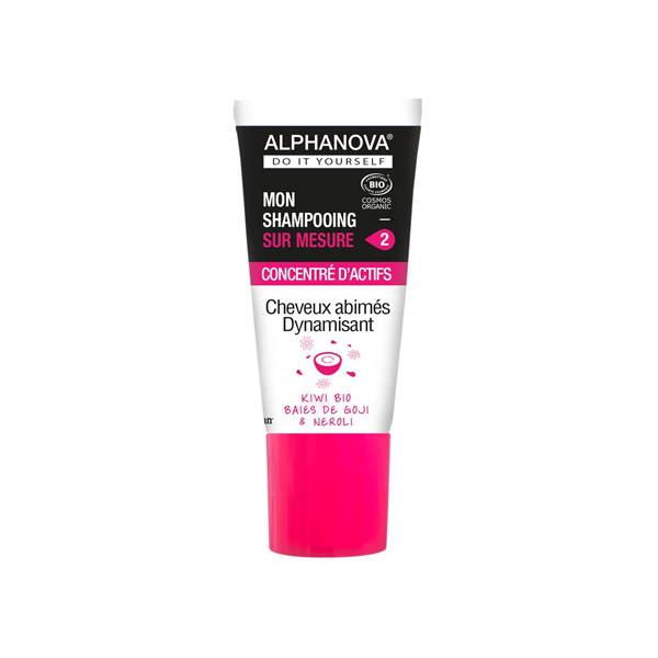 Alphanova Mon Shampooing Sur Mesure Concentré D'Actifs Cheveux Abîmés Bio 20ml