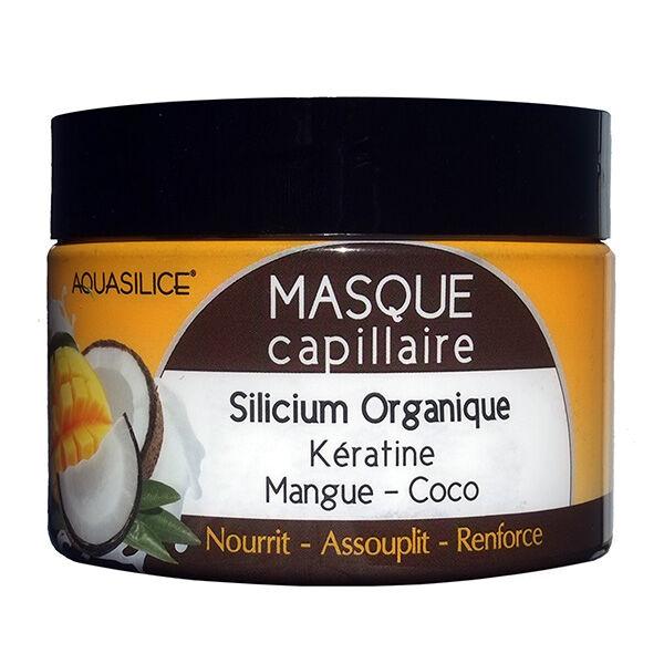 Aquasilice Masque Capillaire Silicium et Kératine Parfum Mangue Coco 250ml